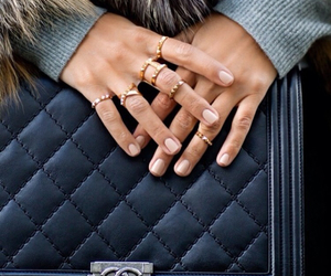 fashion, chanel, and rings image