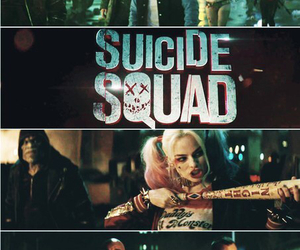 suicide squad, harley quinn, and will smith image