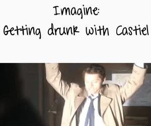 drunk, funny, and imagine image