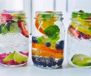 fruit, water, and healthy image