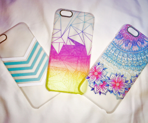 cases, colorful, and iphone image