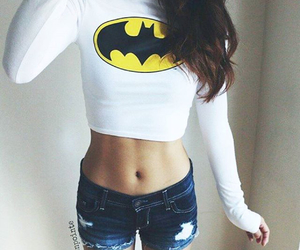 batman, outfit, and style image