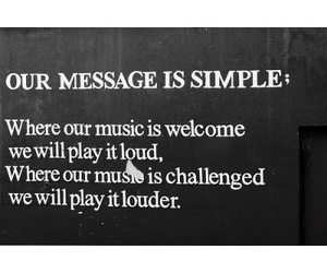 music and message image