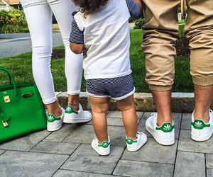 family, adidas, and baby image
