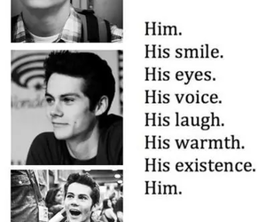 dylan o'brien, teen wolf, and him image