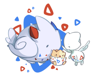 fanart, pokemon, and togepi image