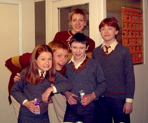 cast, ron weasley, and harry potter cast image