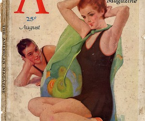 1931, couple, and fashion image