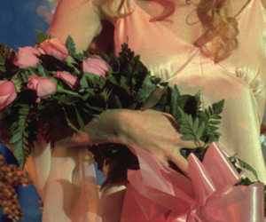 carrie, flowers, and pink image