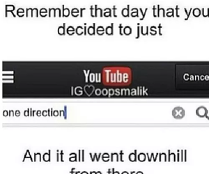 one direction, youtube, and 1d image