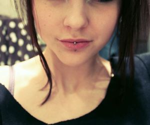 girl, piercing, and ACDC image