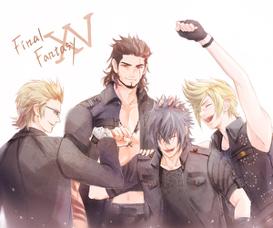 final fantasy and noctis image