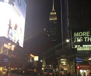 empire state building, new york, and the big apple image
