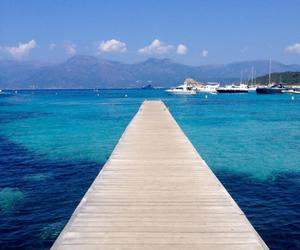 beach, corse, and summer image