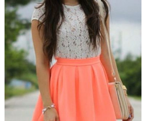 fashion, lace, and neon image