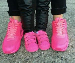 pink, adidas, and nike image