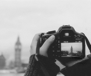 london, camera, and photo image