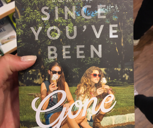 book, girl, and since youve been gone image