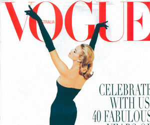 vogue and vintage image