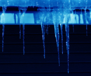 black, blue, and cold image