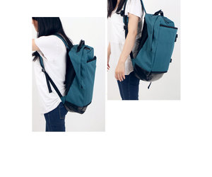style, canvas backpack, and ajito image