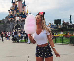 disney, girl, and travel image