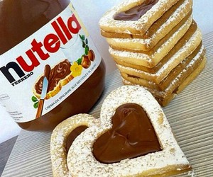 food, nutella, and yummy image