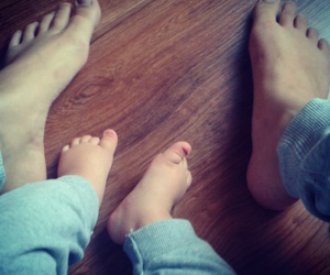 baby, feet, and mother&son image
