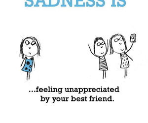 best friend, leaving, and loneliness image