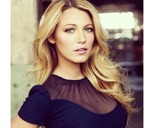 blake lively, serena, and gossip girl image