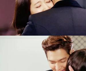 lee min ho, park shin hye, and teen drama image