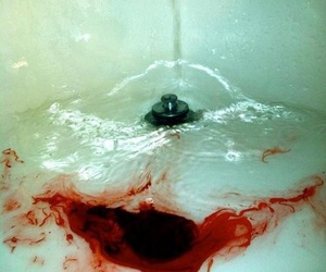 blood and water image