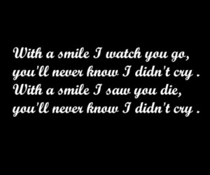 b&w, cry, and Lyrics image