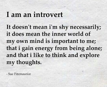 i m an introvert 🚶 discovered by sad`artisț on we heart it