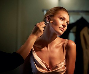 model, candice swanepoel, and makeup image
