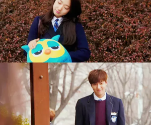 couple, cute, and the heirs image
