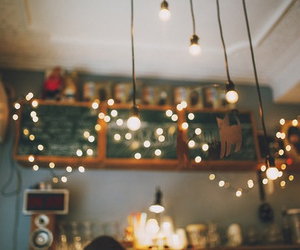light, vintage, and room image