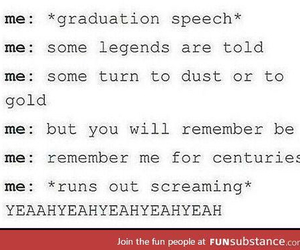 bands, graduation, and funny image