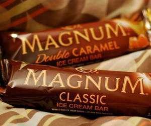 Magnum, ice cream, and food image