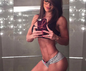 abs, fitness, and healthy image