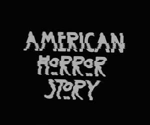 bw, ahs, and american horror story image