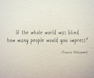 quotes, Impress, and blind image