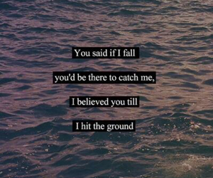 quotes, believe, and fall image