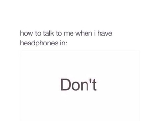 headphones, music, and funny image