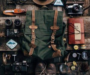 adventure, travel, and backpack image