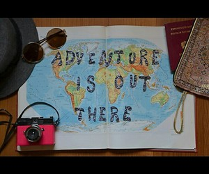 adventure, traveling, and befree image