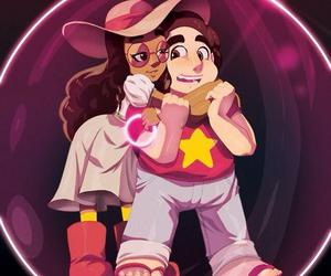 steven, connie, and steven universe image