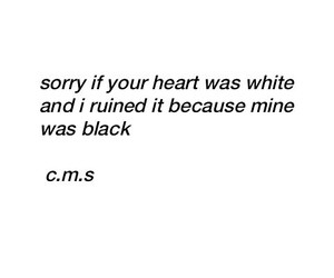 quote, black, and white image