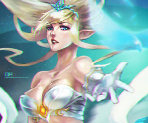 league of legends and janna image