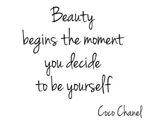 quote, beauty, and coco chanel image